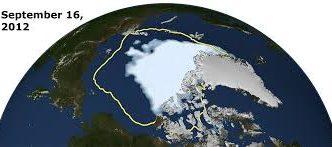 artic melt and temperate zones