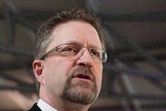 Chuck Strahl is pictured in Ottawa on February 3, 2011. (Adrian Wyld / THE CANADIAN PRESS)
