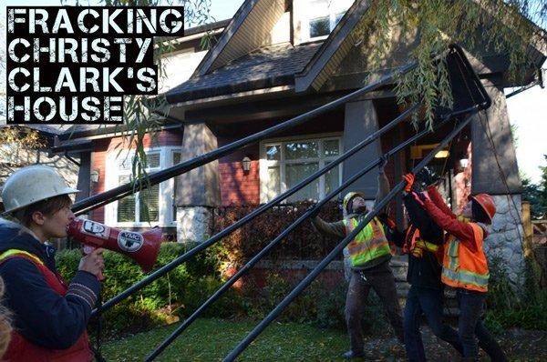 Fracking Christy Clark