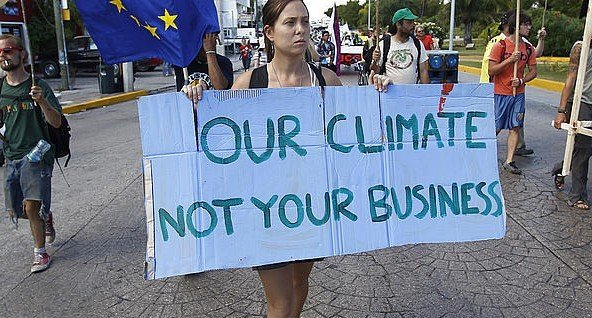ourclimatenotyourbusiness