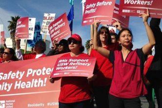 Nurses join oil workers
