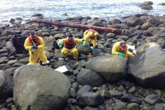 Vancouver spill