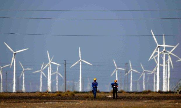 China windfarm