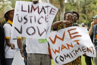 """""""Climate Justice Now"""""""