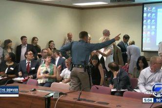 Colorado public hearing photo