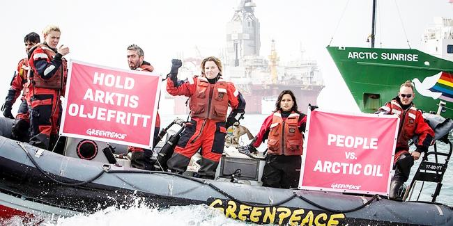 Greenpeace in the Arctic