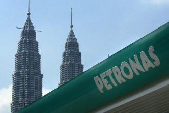 Petronas signage