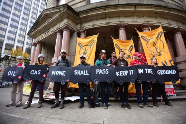 Portland OR demonstration