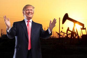 Trump & Oil Pump