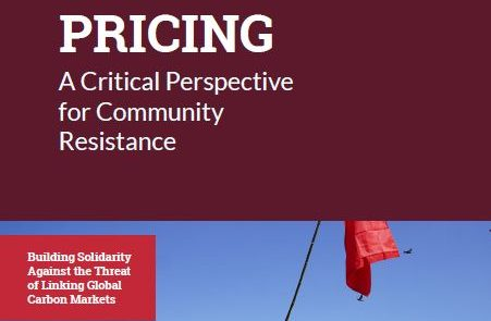 Cover of Report on Carbon Pricing