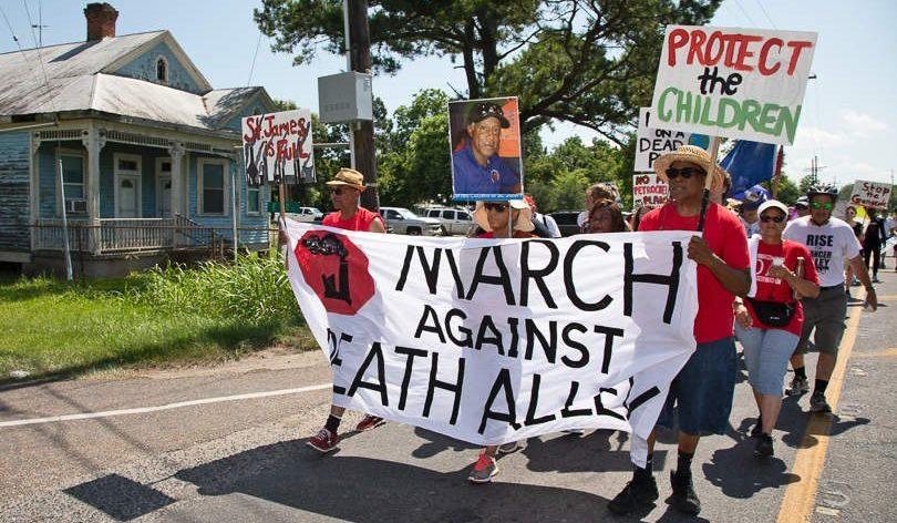 March Against Death Alley   Photo by Julie Dermansky for DeSmog Blog
