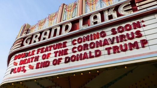 Grand Lake Theater Oakland Marqee