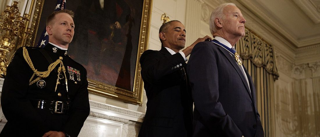 Obama Awards Biden Medal of Freedom