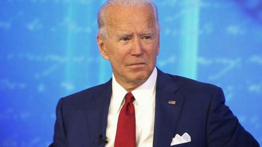 Joe Biden at an October 2020 Town Hall on ABC