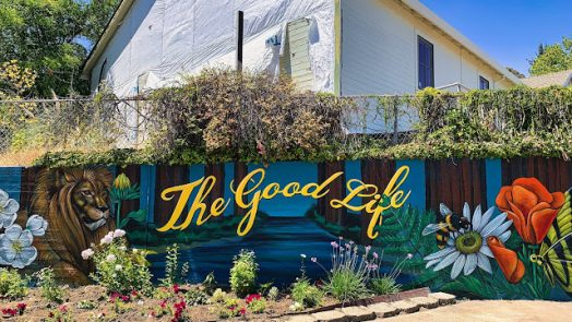 """""""The Good Life"""" - A Mural"""
