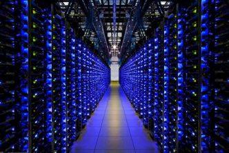 Crypto mine data center